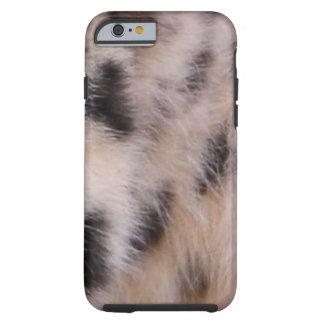 Snow Leopard Fur Tough iPhone 6 Case
