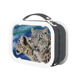 Snow Leopard Habitat Lunchbox