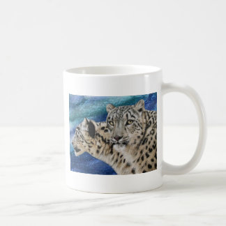 Snow Leopard Habitat Mug