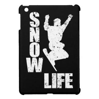 SNOW LIFE #3 (wht) iPad Mini Cover