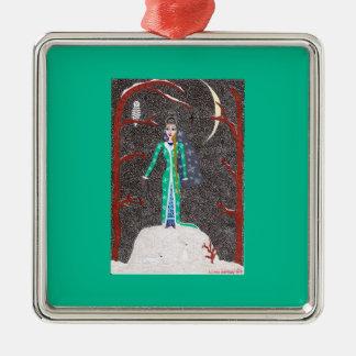 Snow Maiden Ornament - Premium Square