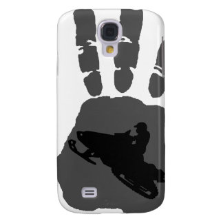 SNOW MOBILE NIGHT GALAXY S4 CASE
