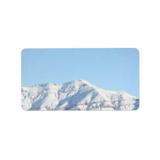 Snow Mountain Labels