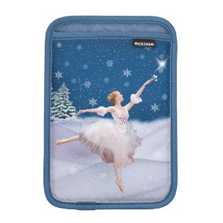 Snow Queen Ballerina Customizable iPad Mini Sleeve