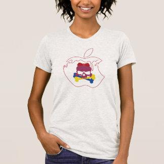《Snow White Skull》kuroi-T Design T-Shirt