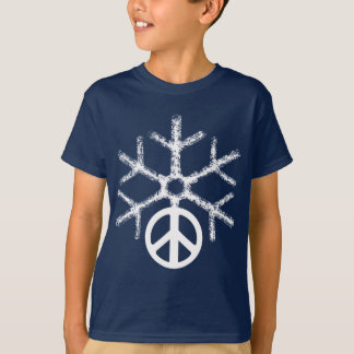 Snow with peace T-Shirt