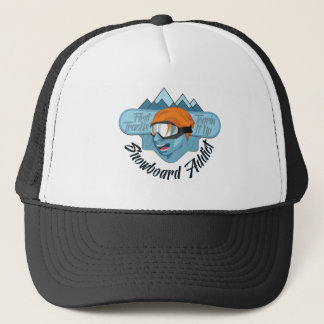 Snowboard Addict Trucker Hat