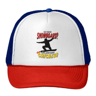 SNOWBOARD CHICKEN 1 CAP