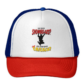 SNOWBOARD CHICKEN 2 CAP