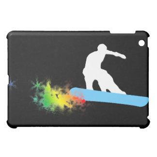 snowboard : powder trail cover for the iPad mini