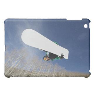 Snowboarder Getting Vert iPad Mini Cover