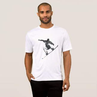 Snowboarder Grabbing Some Air T-Shirt