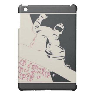 Snowboarder/Pop Art Case For The iPad Mini