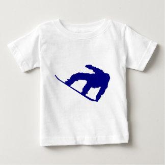 Snowboarder shadow tshirts