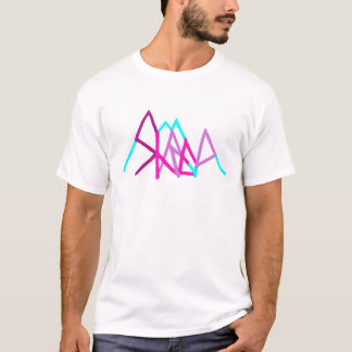 snowboarding shred2 pink T-Shirt
