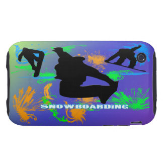 Snowboarding - Snowboarders Case-Mate Case Tough iPhone 3 Case
