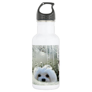 Snowdrop the Maltese 532 Ml Water Bottle