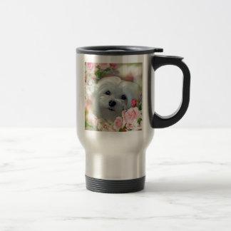 Snowdrop the Maltese Travel Mug