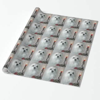Snowdrop the Maltese Wrapping Paper