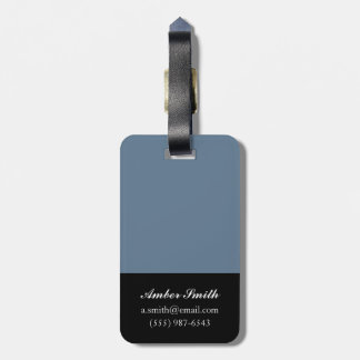 Snowdrops 2014 luggage tag