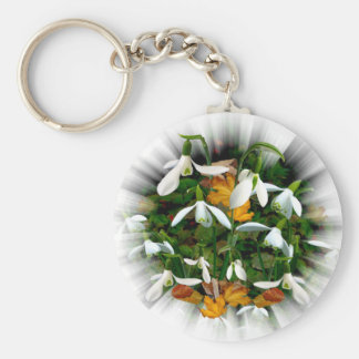 SNOWDROPS ~ Magnet Key Ring