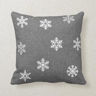 Snowflake Christmas Winter Cushion