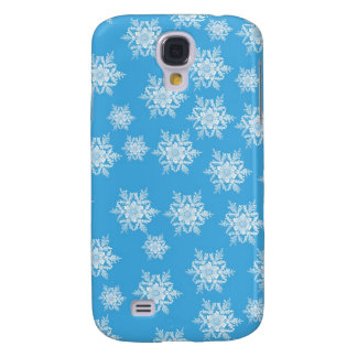 Snowflake Design Galaxy S4 Case