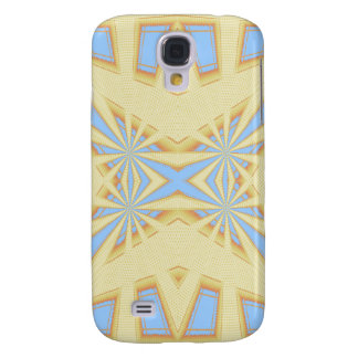 Snowflake - Geometric Abstract Galaxy S4 Case