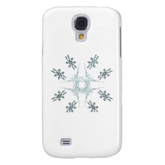 Snowflakes and Frost Galaxy S4 Case