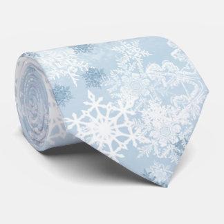 Snowflakes Men's Tie