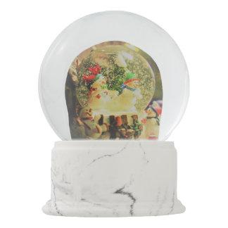 Snowman Globe, Snowman Globe Snow Globe