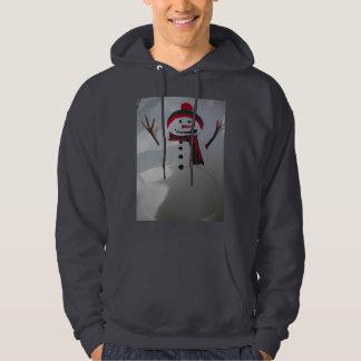 Snowman Men's Pullover Hoodie