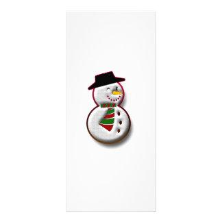 Snowman Customized Rack Card