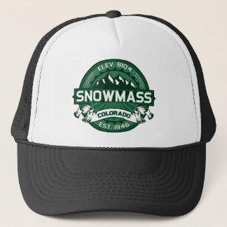 Snowmass Forest Trucker Hat