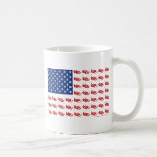 Snowmobile Flag Coffee Mug