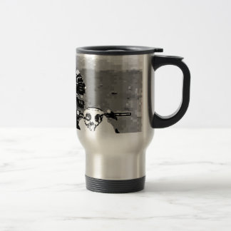 Snowmobile Freedom Stainless Steel Travel Mug