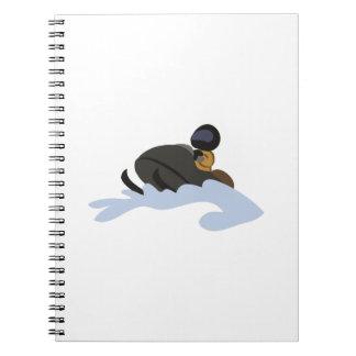 snowmobile note books