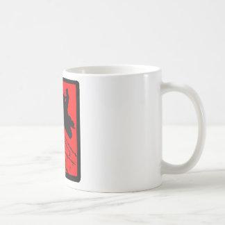 SNOWMOBILE RED WIRED COFFEE MUG