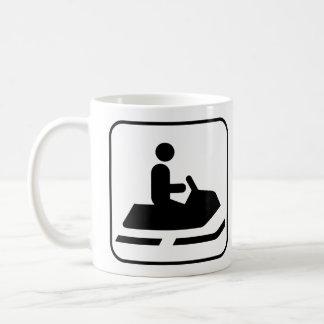 Snowmobile Symbol Mug