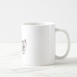 Snowmobiler Pine Trees Coffee Mug