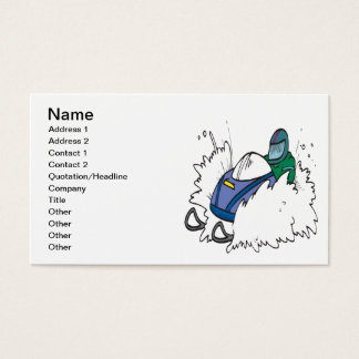Snowmobiling Business Card