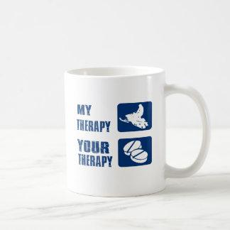 Snowmobiling designs coffee mug