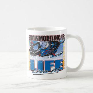 Snowmobiling is Life Live it Coffee Mug