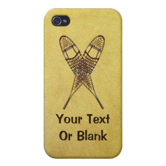 Snowshoes iPhone 4 Cover