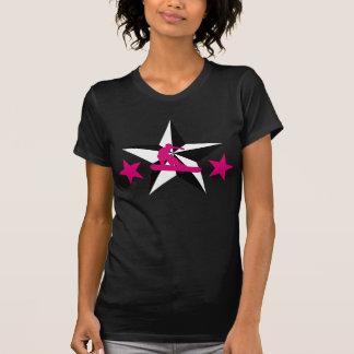snowSTARz. pink boarder. T-Shirt