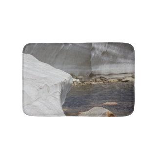 Snowy bath mat bath mats