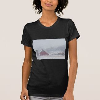 Snowy Country Winter Day T-shirts