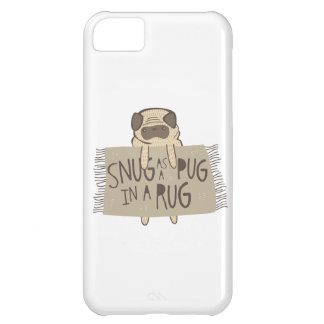 Snug as a Pug in a Rug iPhone 5C Cover
