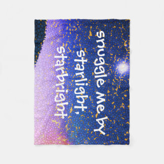 Snuggle Me by Starlight Starbright Fleece Blanket