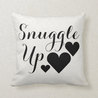 Snuggle Up Heart Pillow Cushions